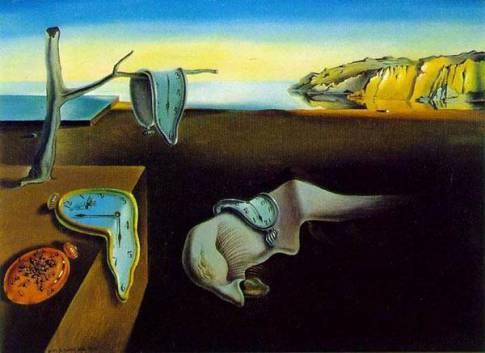 إصرار الذاكرة للفنان سلفادور دالي