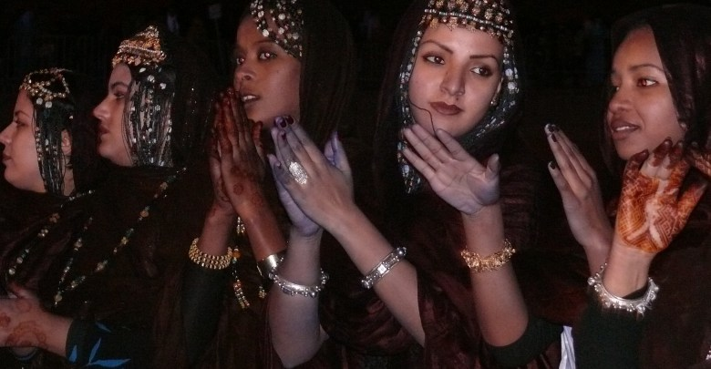 صور من المرأة الموريتانية