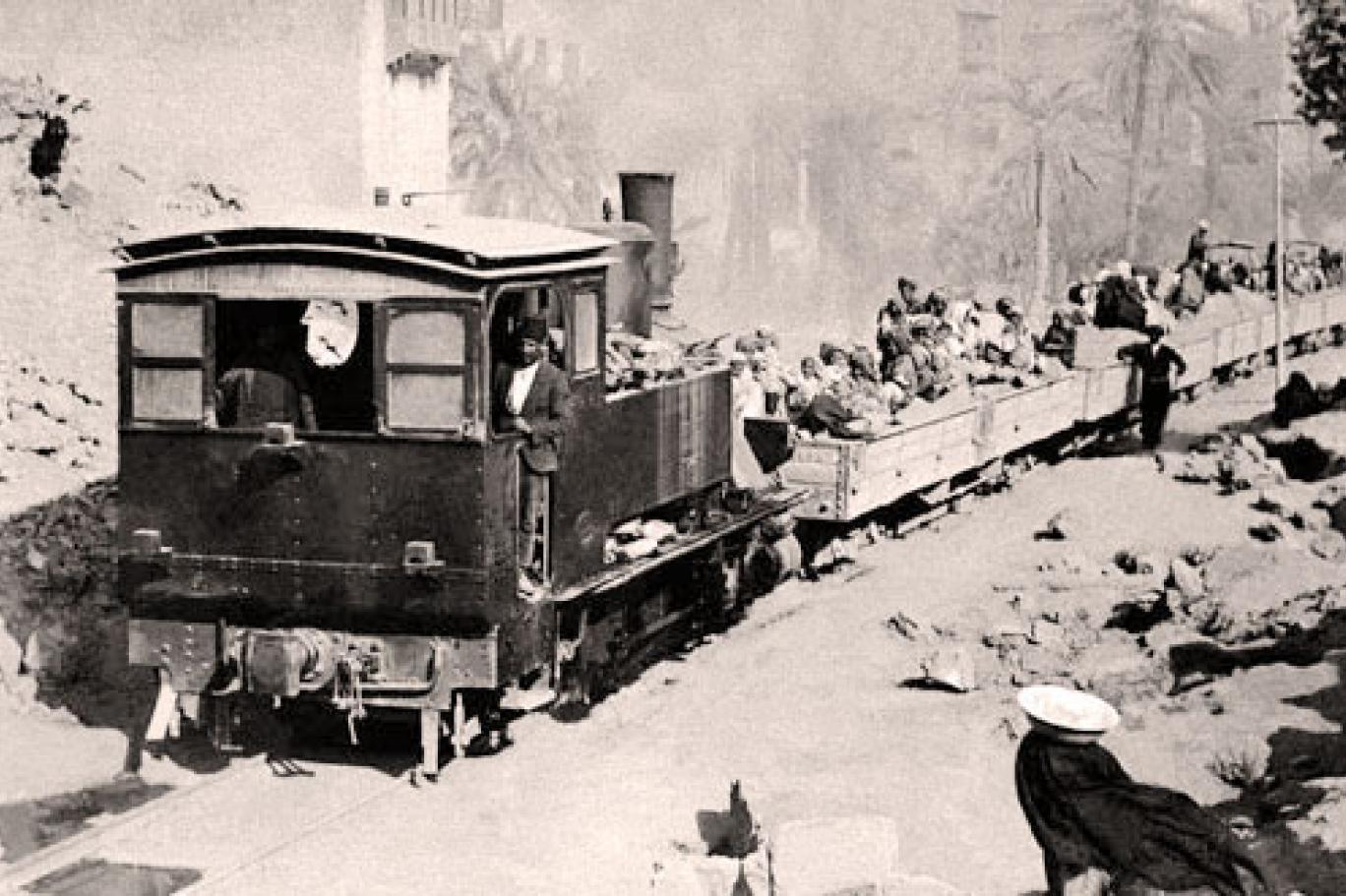 """قطار التهجير (كتاب """"سفر برلك"""")"""