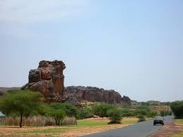 صورة من الطبيعة الموريتانية الخلابة